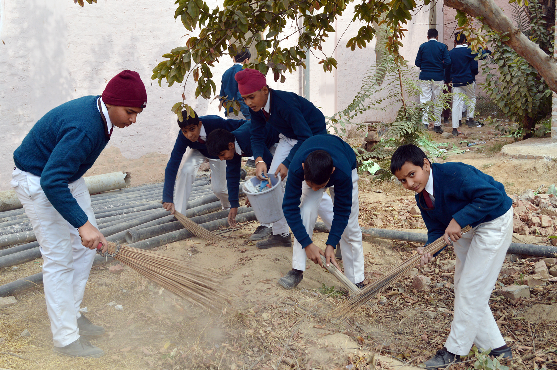 cleanliness campaign To create awareness about safety, health, hygiene and environmental issues, cleanliness campaigns were organized by the center in-charges and coordinators which motivate the whole community to maintain their personal hygiene as well as environmental hygiene.